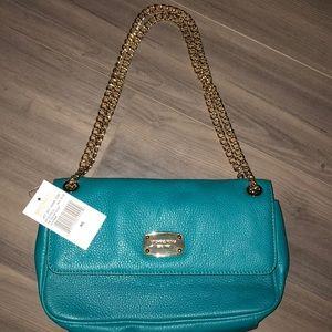 Michael Kors Blue Tile Shoulder Bag. Never used!